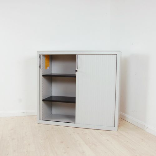 Steelcase Tambour Unit 1200w  office storage with sliding
